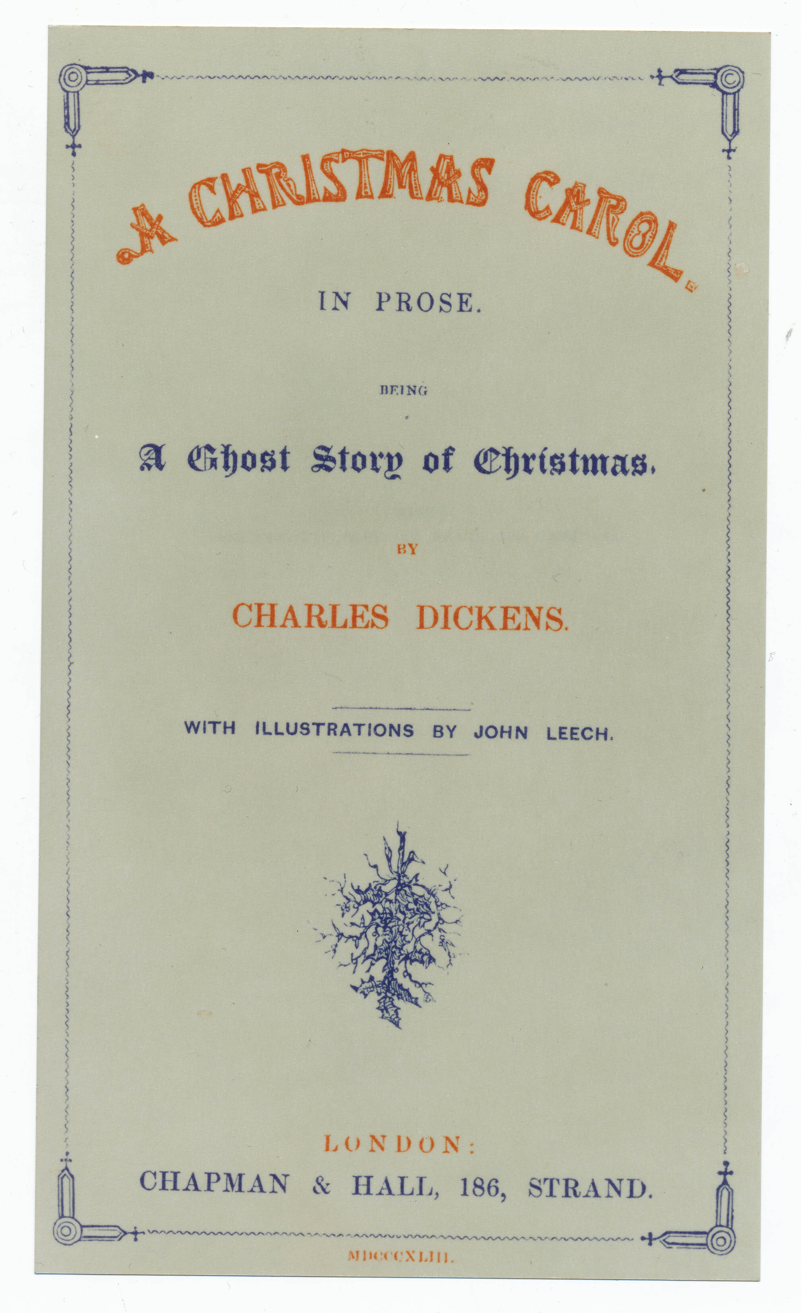 Charles Dickens Museum: Private Tour for SoA members - a Christmas special