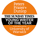 Shortlist for The Sunday Times / Peters Fraser + Dunlop Young Writer of the Year Award 2017