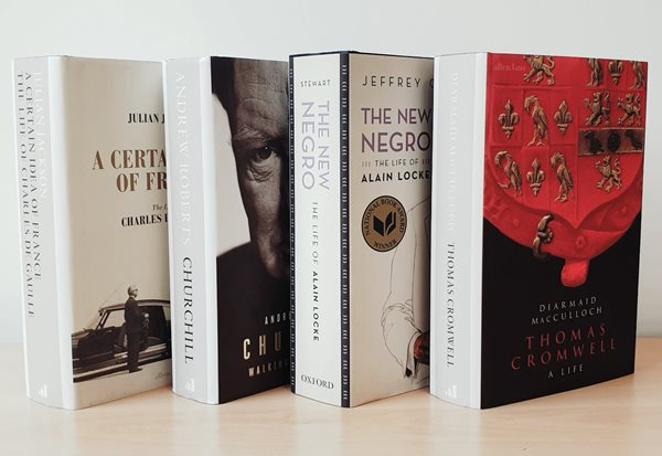 Shortlist for the 2019 Elizabeth Longford Prize for Historical Biography